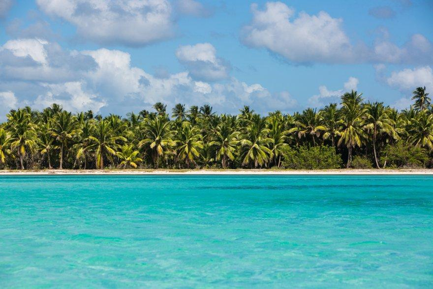 Vistas desde Isla Saona