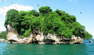 Parque Nacional de isla de Los Haitises en Samaná