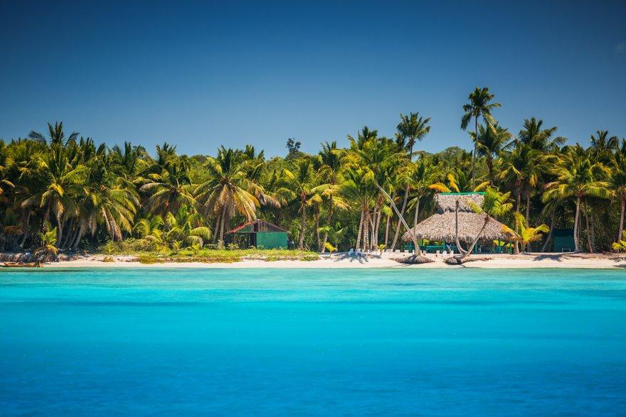 Vistas de las playas de Punta Cana