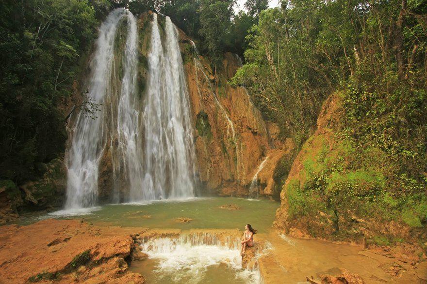 cascadas en punta cana