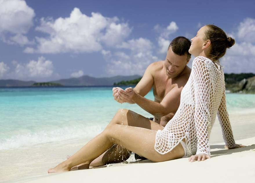 pareja en Punta Cana