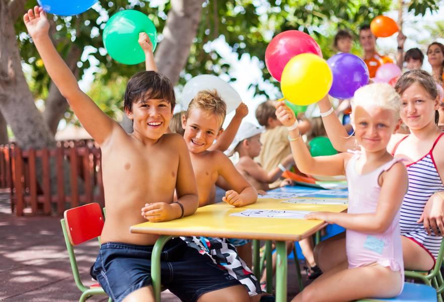 Kids in Punta Cana