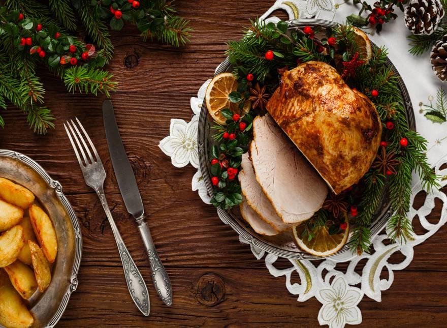 Gastronomía navideña en República Dominicana