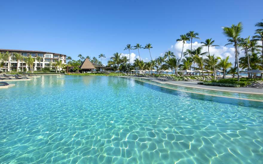 Piscina de resort en Punta Cana