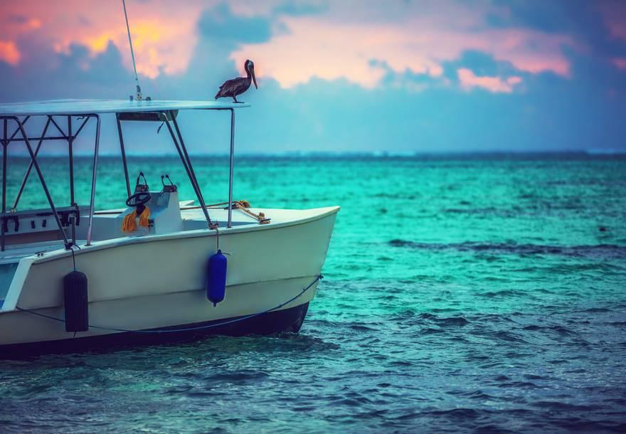 Barco en República Dominicana