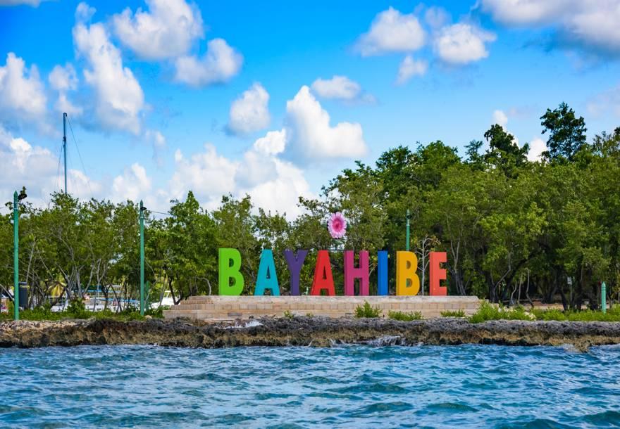 Cartel en Bayahibe