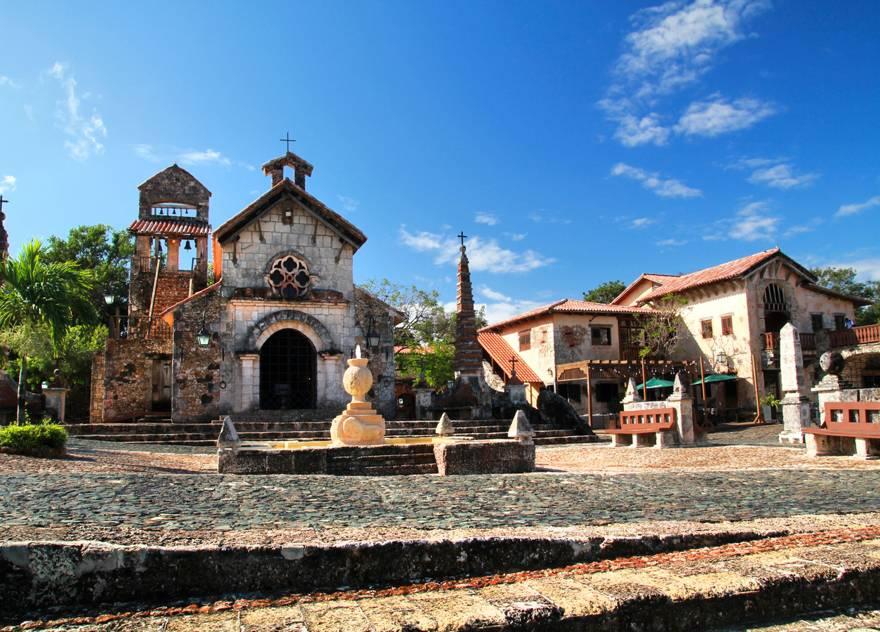 Square in Altos de Chavon