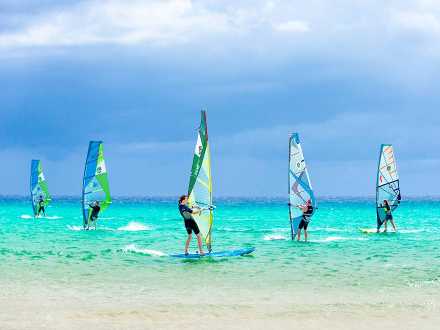 Windsurfing in the Dominican Republic